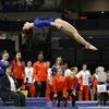 Maegan Chant competes in NCAA