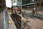 Queens Quay: before and after