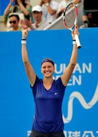 Kvitova tops Bouchard to win Wuhan Open-Image1
