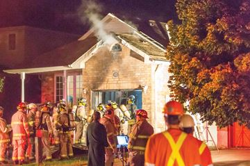 Beardmore home fire