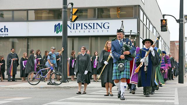 Nipissing University graduation