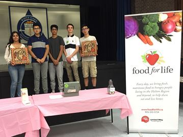 Oakville's WOSS extracurricular club aims to do more than Feed a Person