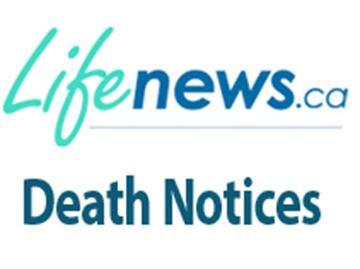 Durham Region Death Notices For Week Starting April 17