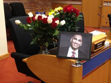 Linbrook School students pay tribute to late Oakville councillor Max Khan