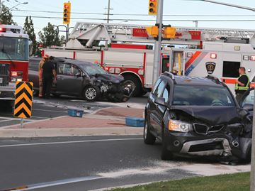 Kingston Road crash