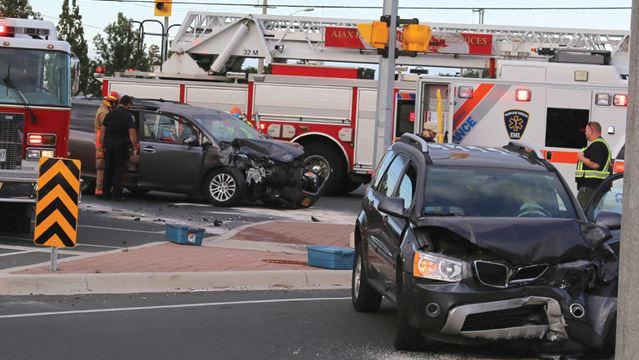 Kingston Road crash