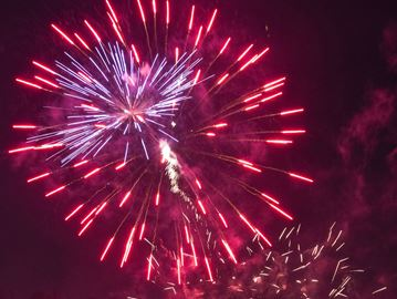 Victoria Day fireworks at Dundas Driving Park