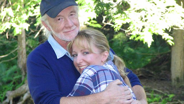 Glen McMahon with daughter, Tami Martin