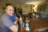 Flooded family
