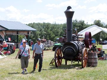 Last day for Georgian Bay Steam Show in Cookstown