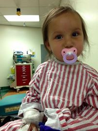Three year old Kylee Harvey is at CHEO battling endocarditis.