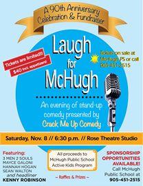 Laugh with McHugh