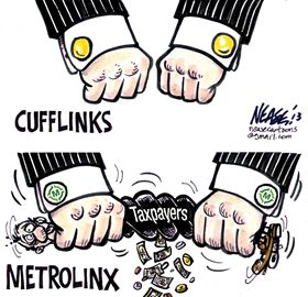 Steve Nease on Metrolinx