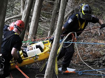 Mount Nemo rescue