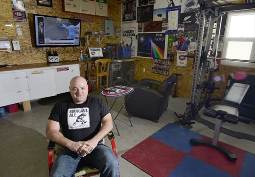 Man Cave Store Hamilton : Opinion tim s man cave is a masculine marvel thespec