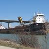 John D. Leitch was first upbound trader to travel through Welland Canal
