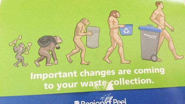 Evolution of trash