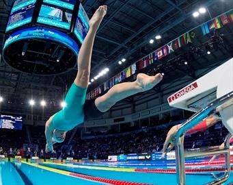 Oleksiak wins bronze at short course worlds-Image1