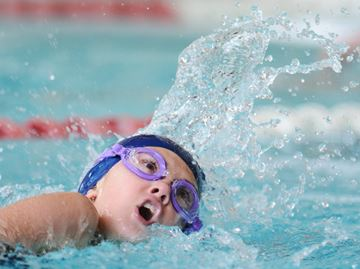 Danielle Hanus Rules Pool At Newmarket Stingrays Swim Meet