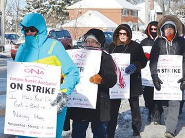 3,000 home and community care workers on strike across Ontario
