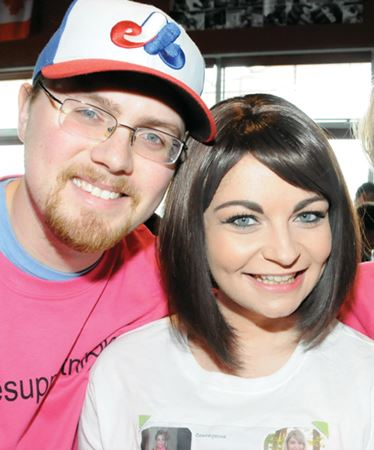 Barrie supports young woman in second cancer battle