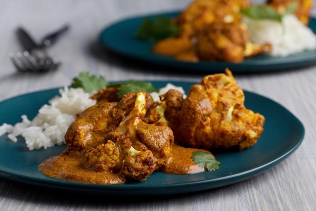 Cauliflower, with Indian cooking's fire and fun
