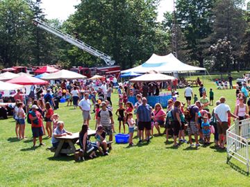 The sights and sounds of family fun filled Victoria Park in Ayr on June 15 for the annual Fresh Ayr Festival. The event featured live entertainment, myriad games, horse-drawn wagon rides, a Teddy B'Ayr picnic, food, vendors and more.