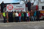 Lynden firefighters food drive