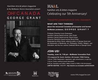 HA&L - OH! CANADA . GEORGE GRANT