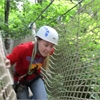 Zip Lining at Bruce's Mill