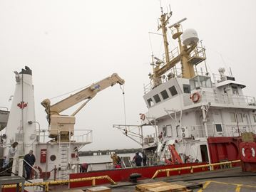 Burlington-based Coast Guard ship a floating laboratory