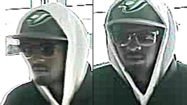 Kanata bank robbery suspect