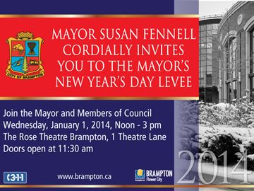 Mayor's New Year's Day Levee