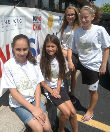 CANUSA Games gymnasts