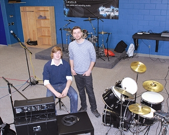 Class act; Students reunite to create music studio– Image 1