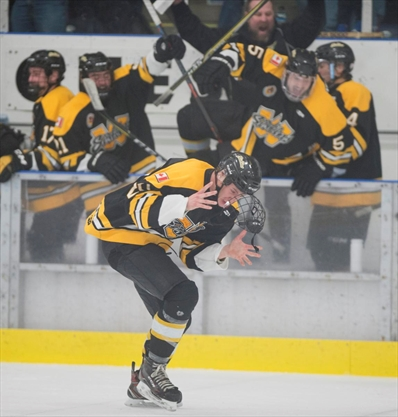 Waterloo Siskins Sink The London Nationals In Overtime To
