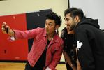 Breakaway star visits Humberview