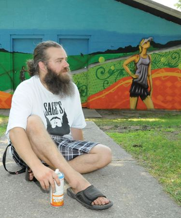 Artist's work helps curb graffiti, tagging in Barrie