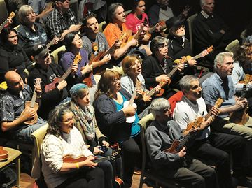 Ukulele enthusiasts take over Midland Cultural Centre
