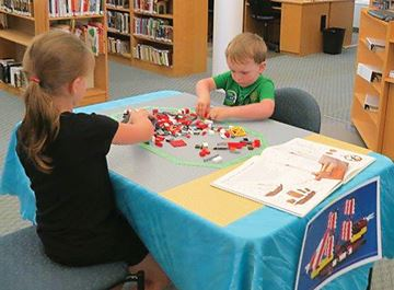 All aboard for Lego project at Penetanguishene library