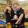 Students gear up for Halloween at St. Francis Xavier Catholic Elementary School