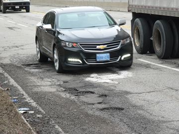 Hamilton staff and politicians are concerned about the high number of roads with serious potholes across the city. One