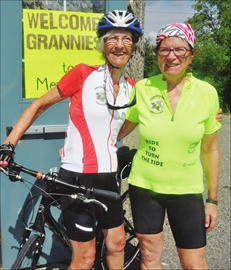 Grassroot Grannies pedal through area to raise funds for African grand– Image 1