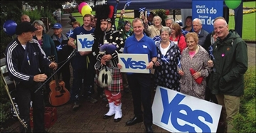 Perth, Scotland likely to vote Yes to independence; Rural South Perths– Image 1