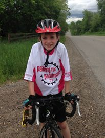 Nat Bannister will be participating in Pedaling for Parkinson's on July 12-14.