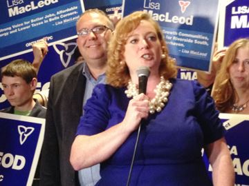 MPP Lisa McLeod enters leadership race