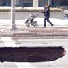 Sink hole closes downtown Oshawa street