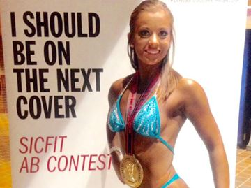 Former Meaford resident excelling in bodybuilding