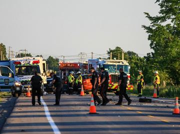 Fatal motorcycle collision in Welland