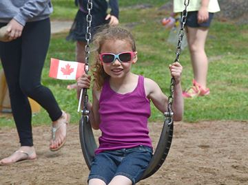 Canada Day in Angus